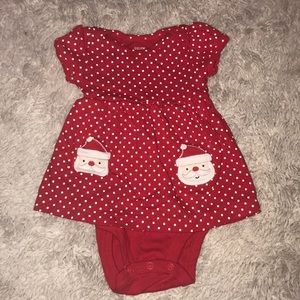 Other - Baby girl Santa outfit